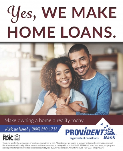 Yes, WE MAKE HOME LOANS.